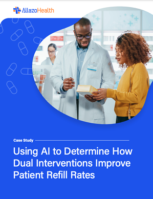 Cover Image of Retail Pharmacy Case Study: Using AI to Determine How Dual Interventions Improve Patient Refill Rates